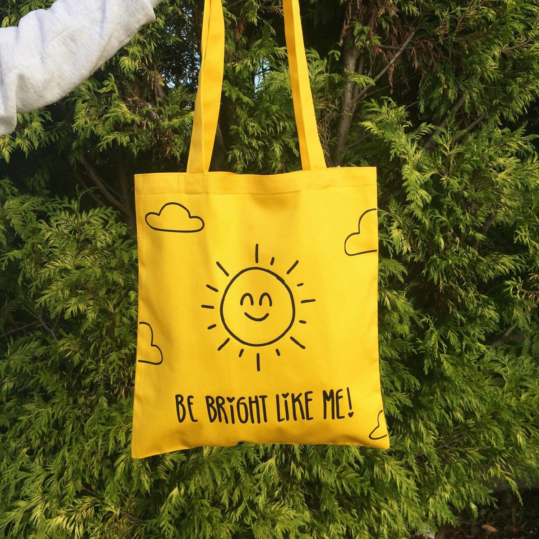 Tote Bag Amarelo Respiramor