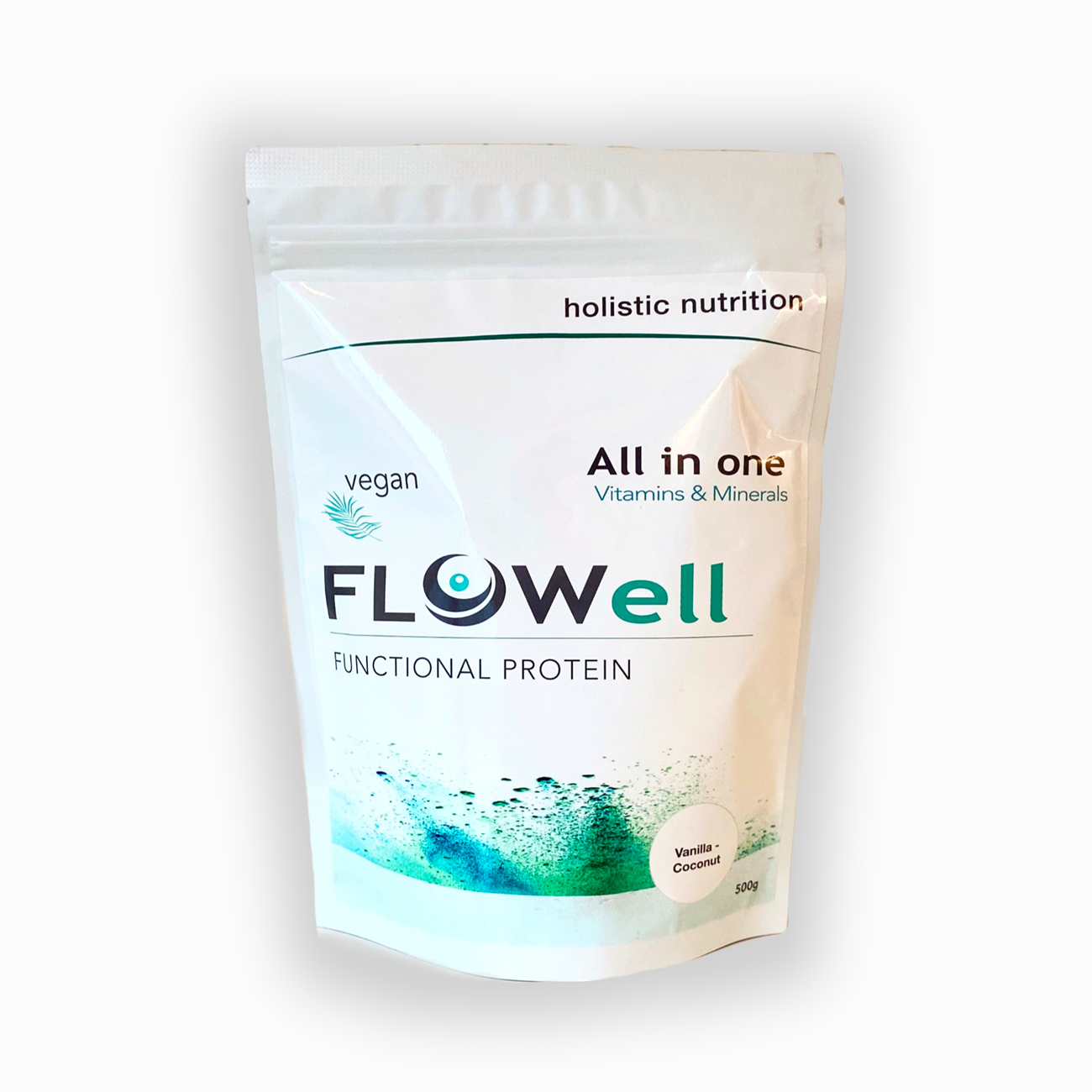 Flowell All in One: Vitaminas & Minerais 500g