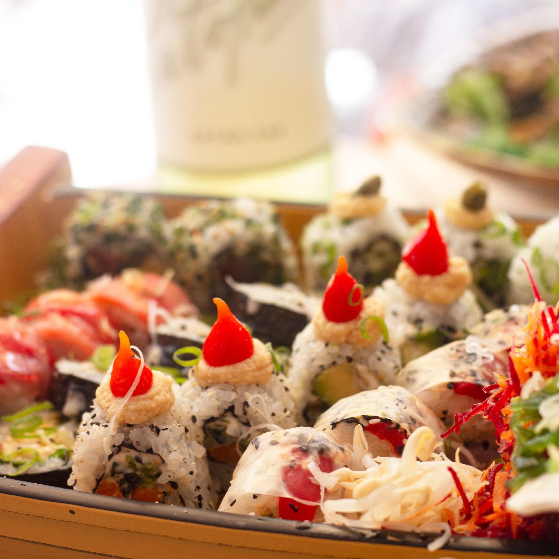 Legumi Sushi Menu Takeway para 2