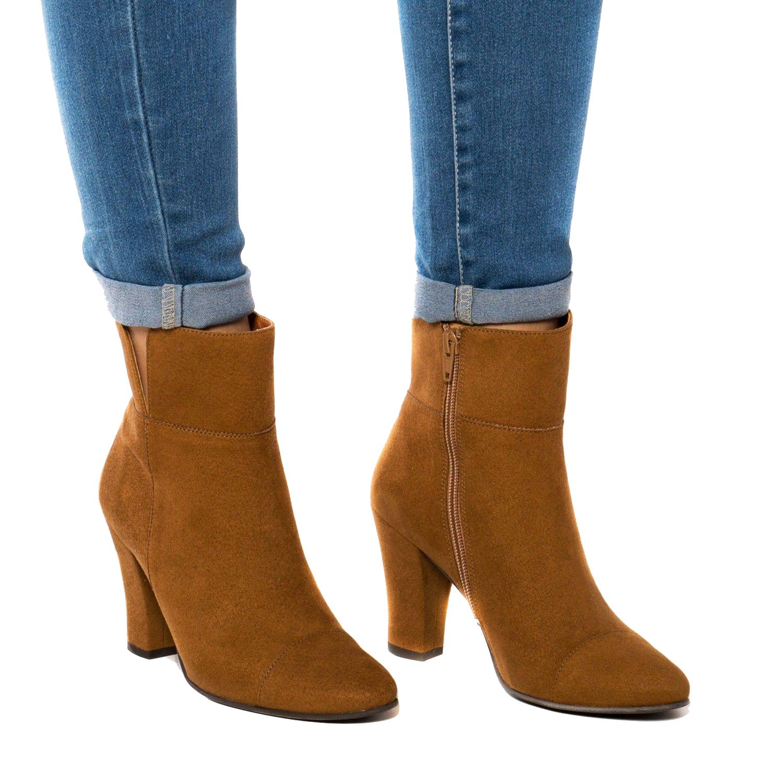 NAE Vegan Ankle Boots Bline Castanhas