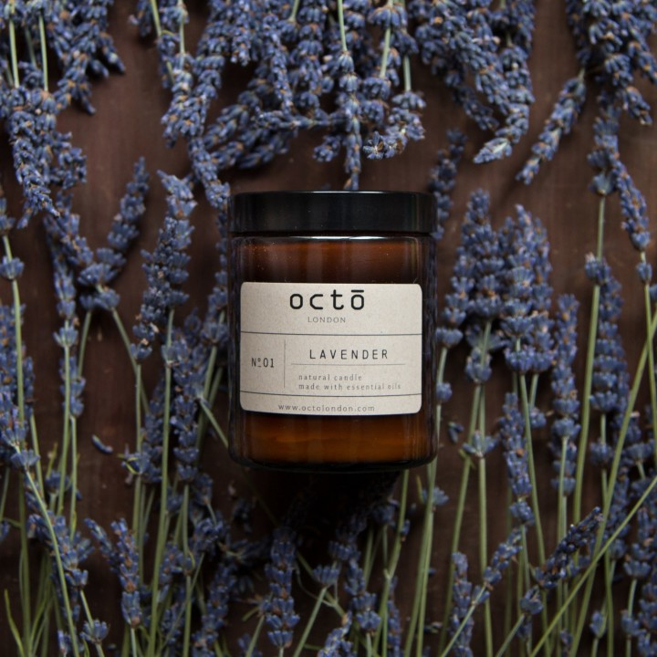 Octō London Handmade Soy Wax Candle (500ml)