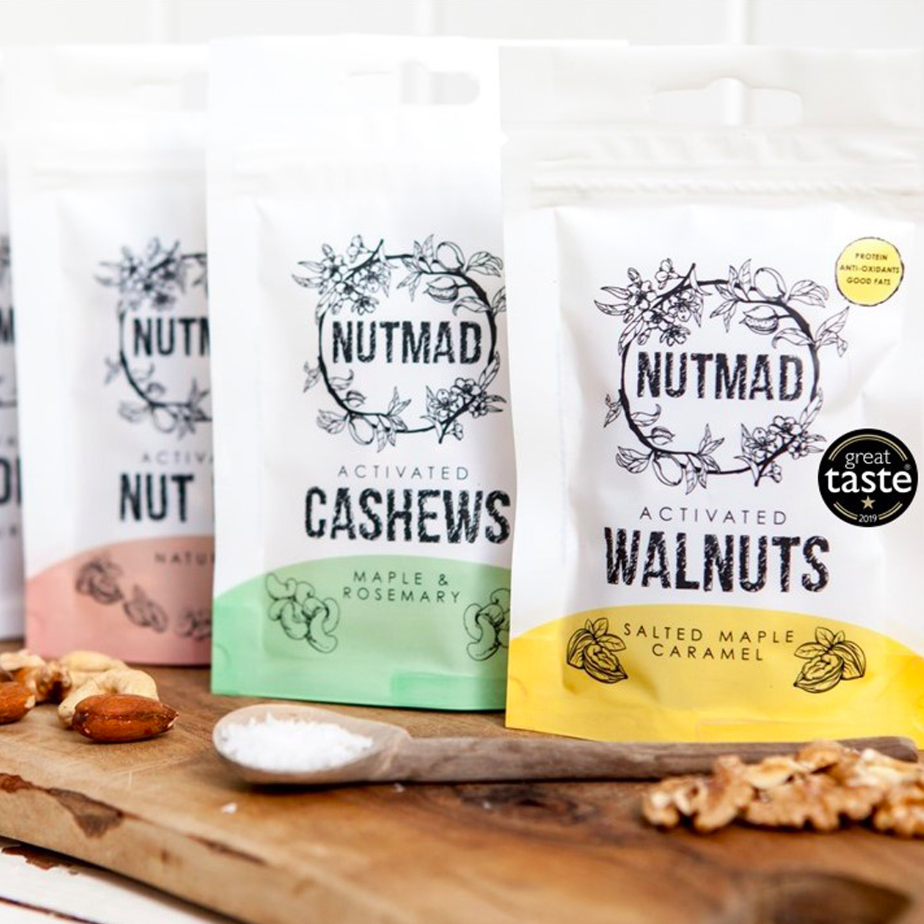 Nutmad Mixed Nuts Multipacks