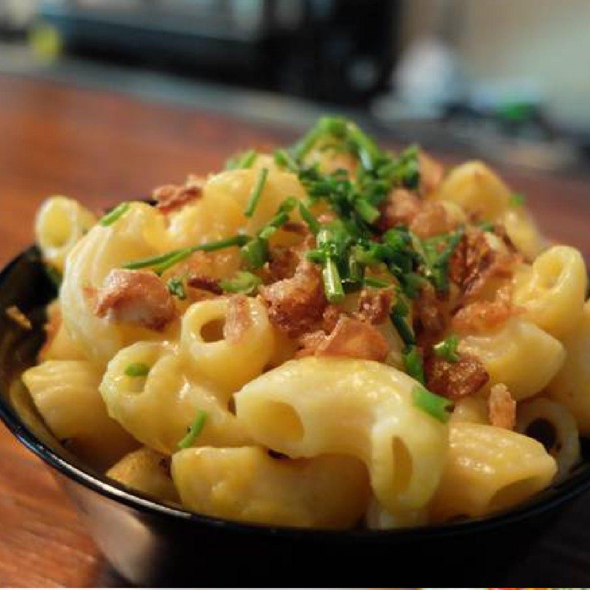 Mac and cheese by Lisbon Vegan Junkies