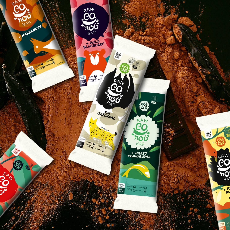 6 Chocolates de Alfarroba Crudiveganos Casa do Bosque