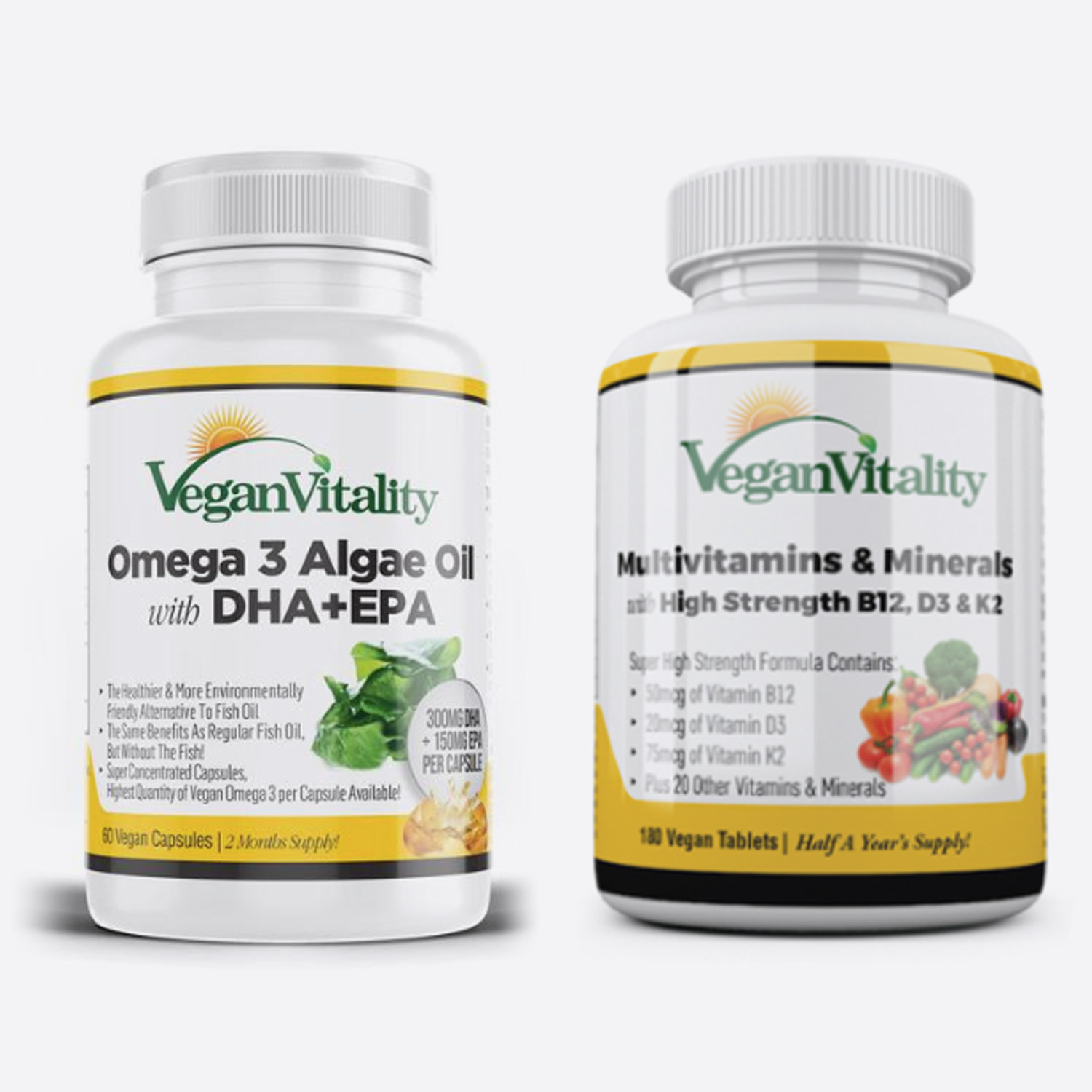 Vegan Vitality - Multi Vitaminas Essenciais